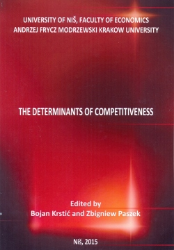 The determinants of competitiveness