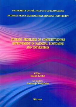 Current problems of competitiveness improvement in national economies and enterprises